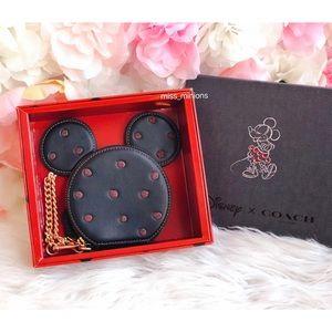 Coach x Disney Minnie Mouse Coin Purse